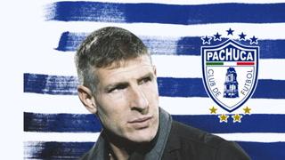 ¡Oficial! Martín Palermo es el nuevo entrenador del Pachuca de México
