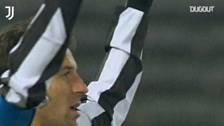 Del Piero become the all-time leading goalscorer for Juventus