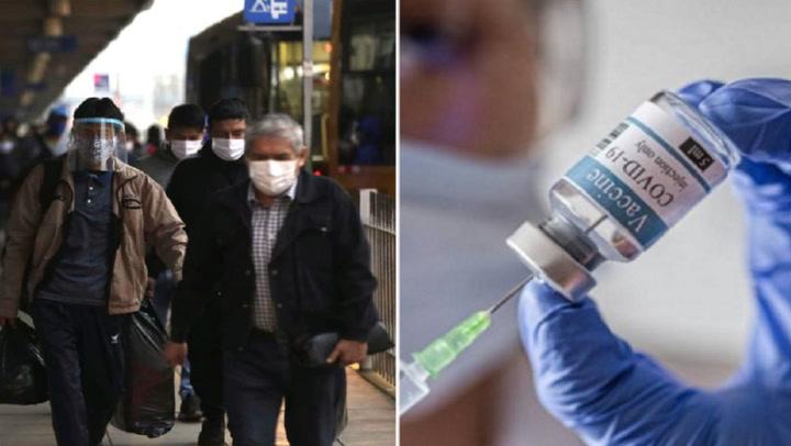 Cerca del 48% de los peruanos rechazan vacunarse contra la COVID-19