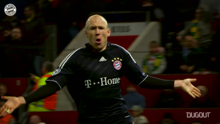 FC Bayern's top Champions League quarter-final strikes