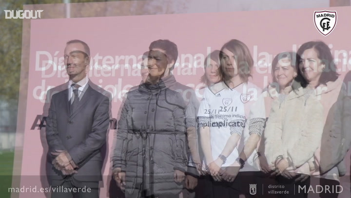 El Madrid CFF por la eliminación de la violencia contra la mujer