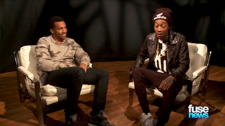 "Shows: Fuse News: Wiz Khalifa on Adele Collabo  ""I Hope We Can Put It On the Album"""