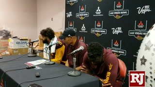 Manny Wilkins on his final ASU game