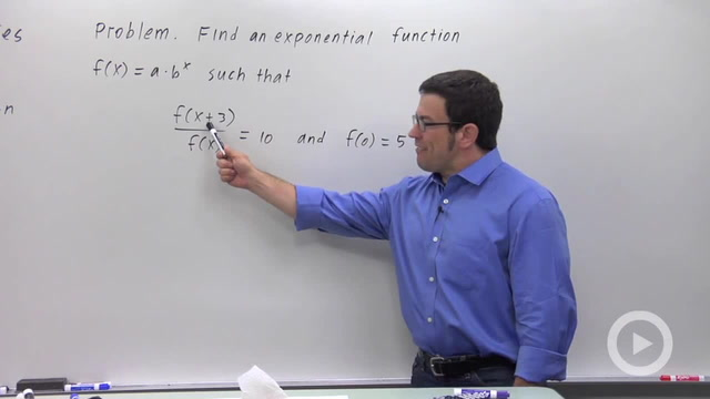 Exponential Functions - Problem 5