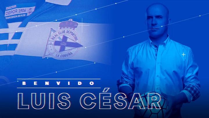 Luis César, nuevo entrenador del Real Club Deportivo