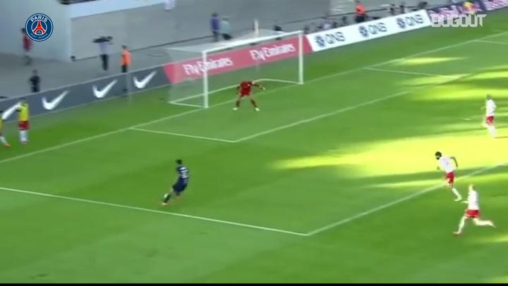 Paris Saint-Germain's great team goal vs Leipzig in 2014