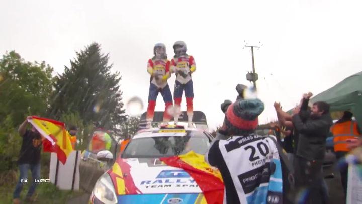 Jan Solans se proclamó campeón del Mundial Júnior de Rallies en Gales