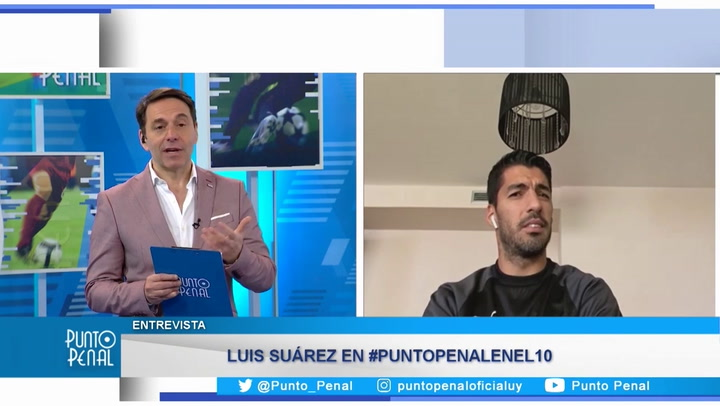 """Luis Suárez: """"Messi saldrá adelante y podrá revertir la situación"""""""
