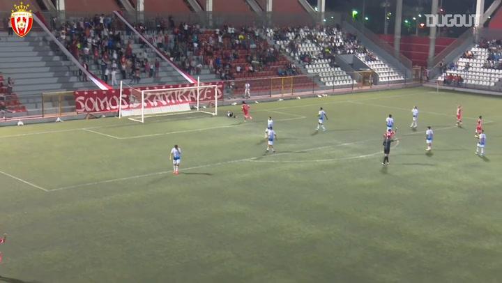 Vinícius de Souza's long-range goal and dancing celebration