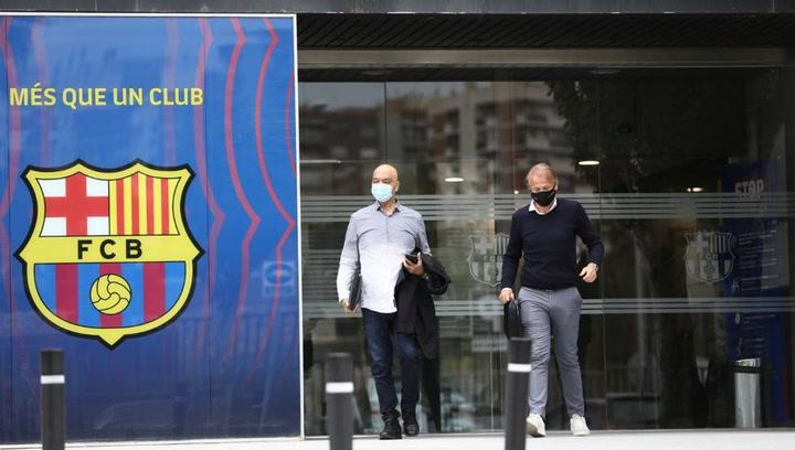 ¡El agente de Wijnaldum, cazado en las oficinas del Barça!
