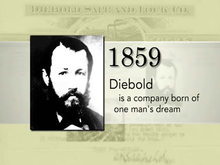 Diebold celebrates 150 years of security, innovation