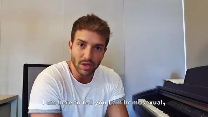 """Pablo Alborán: """"Soy homosexual y la vida sigue igual"""""""