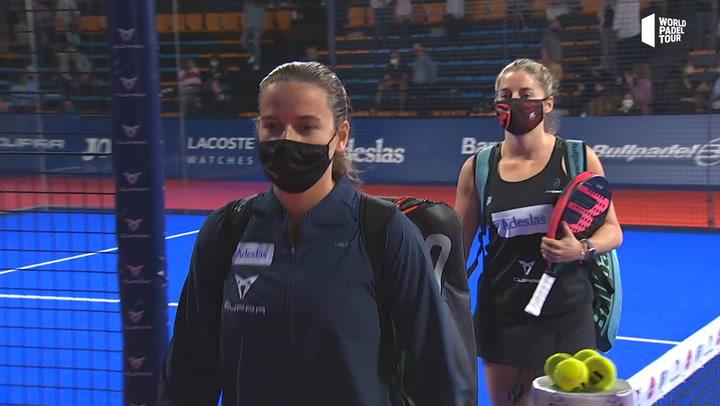 Salazar y Sánchez superan a Triay y Sainz en la final del Estrella Damm Menorca Open