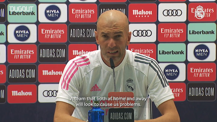 Zidane: 'The players are motivated'