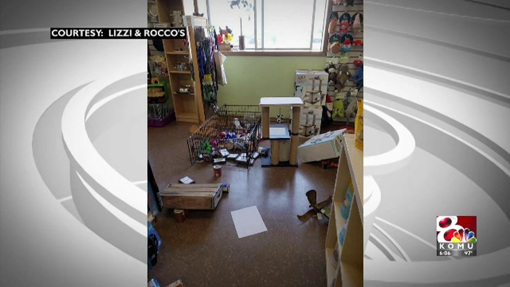 Columbia pet store cleans up after break-in