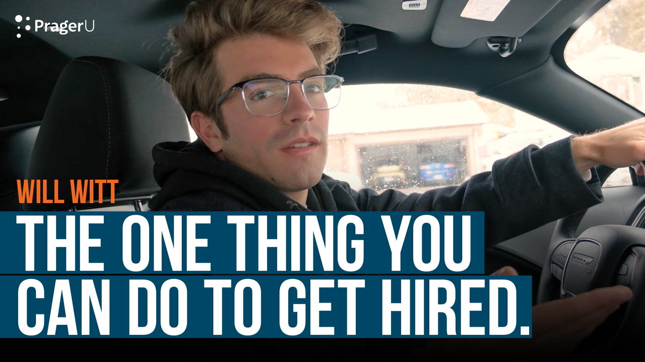 The One Thing You Can Do to Get Hired