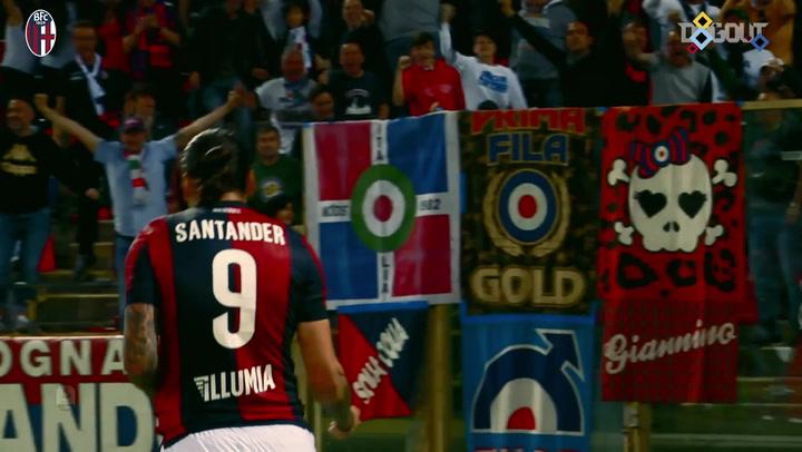 Federico Santander's goals with Bologna