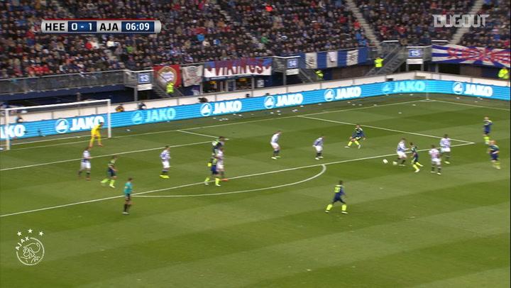 Arkadiusz Milik double downs SC Heerenveen