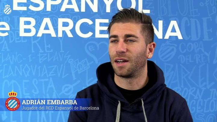 Embarba, nuevo jugador del Espanyol