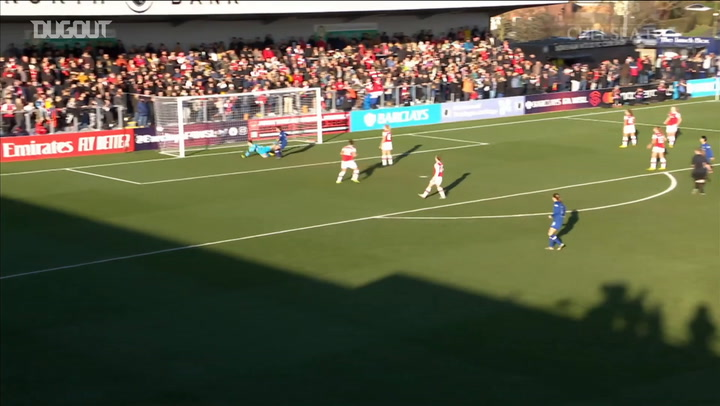 Chelsea score four past Arsenal at Meadow Park