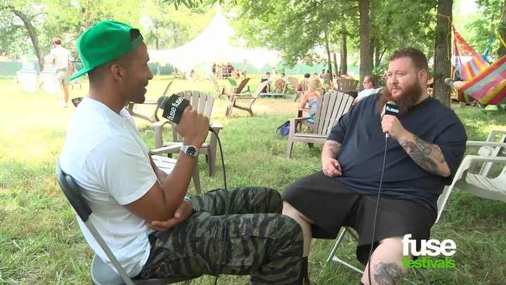 """Festivals: Bonnaroo 2013: Action Bronson on Signing to Major Label & Getting LL Cool J on """"Jeeps"""" Remix"""