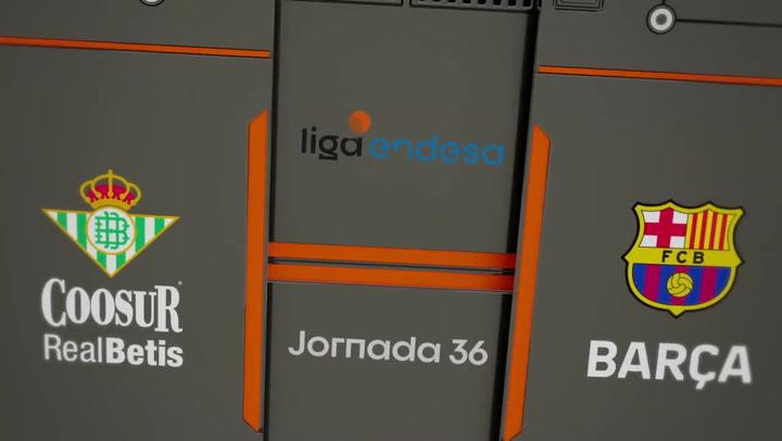 Resumen Liga Endesa: Coosur Real Betis - Barça (58 - 109)