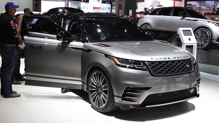 2018 land rover car. unique land 2018 land rover range velar debut and land rover car