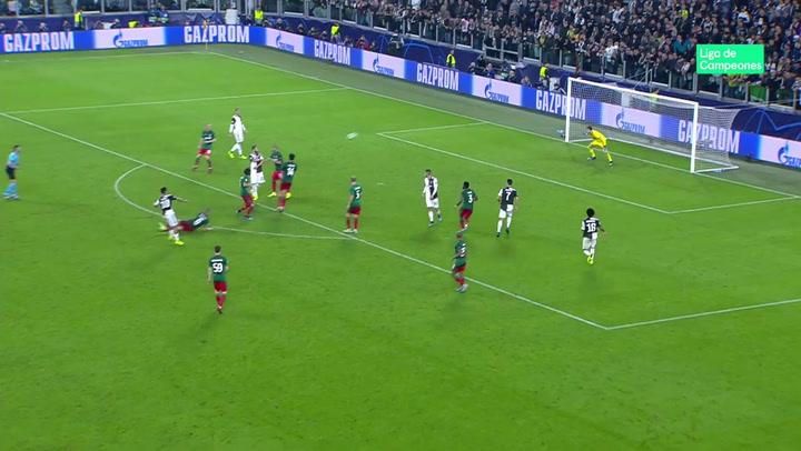 Champions League: Juventus-Lokomotiv. Doblete de Dybala