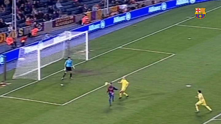 Incredible Goals: Ronaldinho Vs Villarreal
