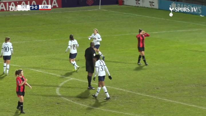 Angela Addison scores superb hat-trick vs Lewes