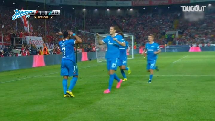 Free-Kicks: Hulk vs Spartak Moscow