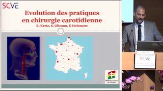 Evolution des pratiques en chirurgie carotidienne : étude observationnelle en France