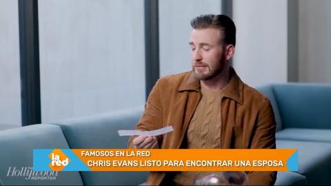 Chris Evans se dice listo para encontrar una esposa y tener hijos
