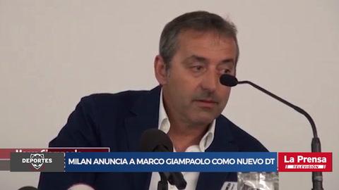 El Milan anuncia a Marco Giampolo como su nuevo técnico