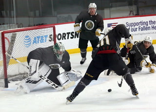 Golden Edge: Prospects Prepare For Scrimmage