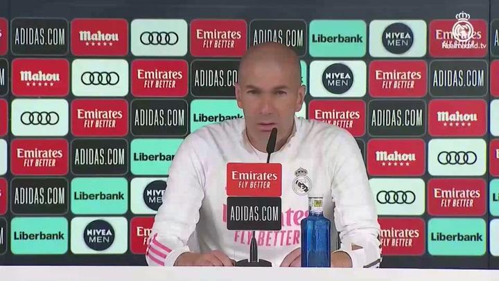"""Zinedine Zidane: """"Ninguno es favorito en un derbi"""""""