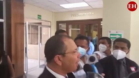 Reynaldo Ekónomo comparece tras audiencia de declaración de imputado