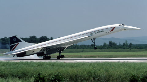 When the  Concorde Took Off