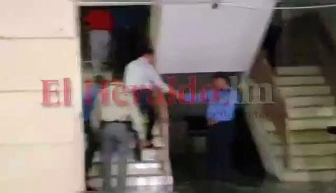 Llegada de Miguel Pastor a los Juzgados en Materia de Corrupción