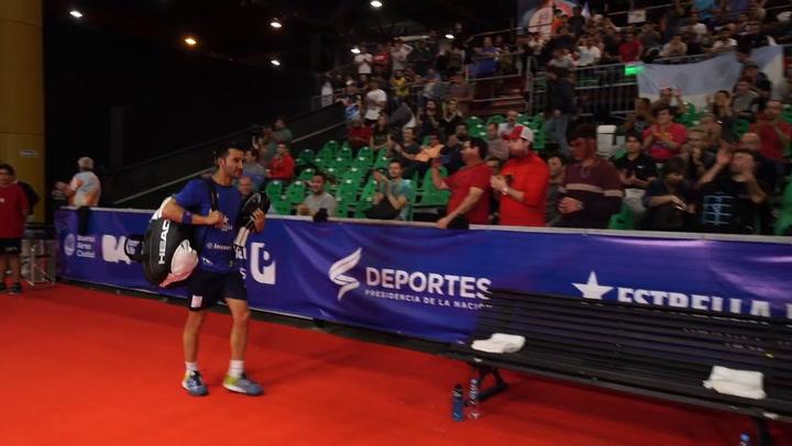 Resumen Cuartos de Final de Sanyo y Maxi contra Silingo y Allemandi en el Buenos Aires Padel Master