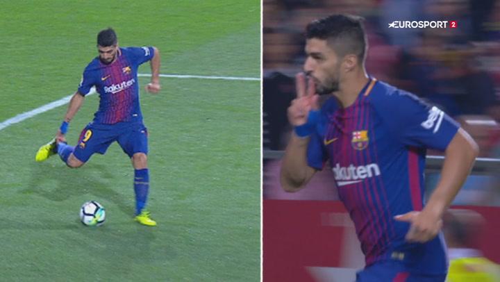 Highlights: To Girona-selvmål grundlagde Barcas 3-0 sejr!