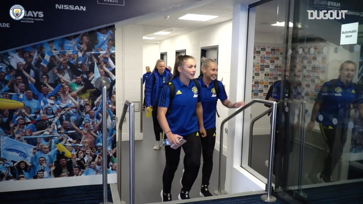 Behind the Scenes: First Women's Manchester Derby