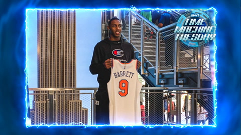 RJ Barrett gets drafted by Knicks, says hello to New York