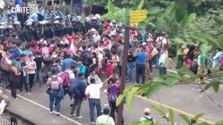 Policía Nacional mantiene resguardo total en la frontera de Agua Caliente