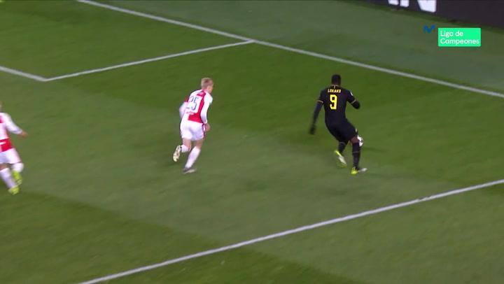 Champions League: Slavia Praga - Inter. Lautaro anotó un doblete asistido por Lukaku