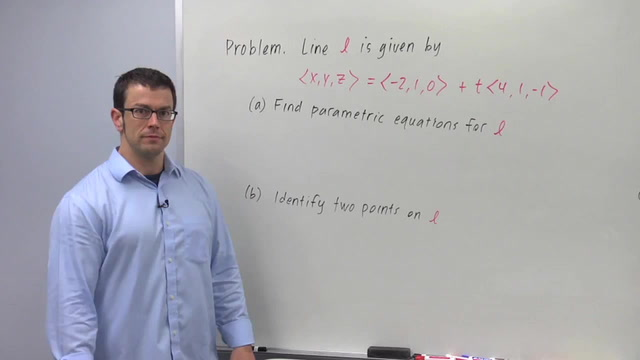Lines in 3D - Problem 2