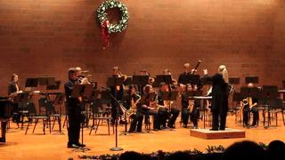 """Morris Area Jazz I performs """"White Christmas"""""""