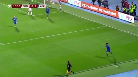 Croacia 2-1 Azerbaiyán