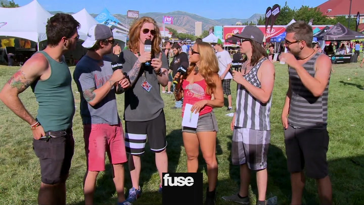 We The Kings On Partying On Warped Tour