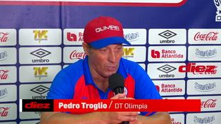 Pedro Troglio responde a Vargas: